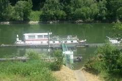 MS Leon im Rheinarm Hersel